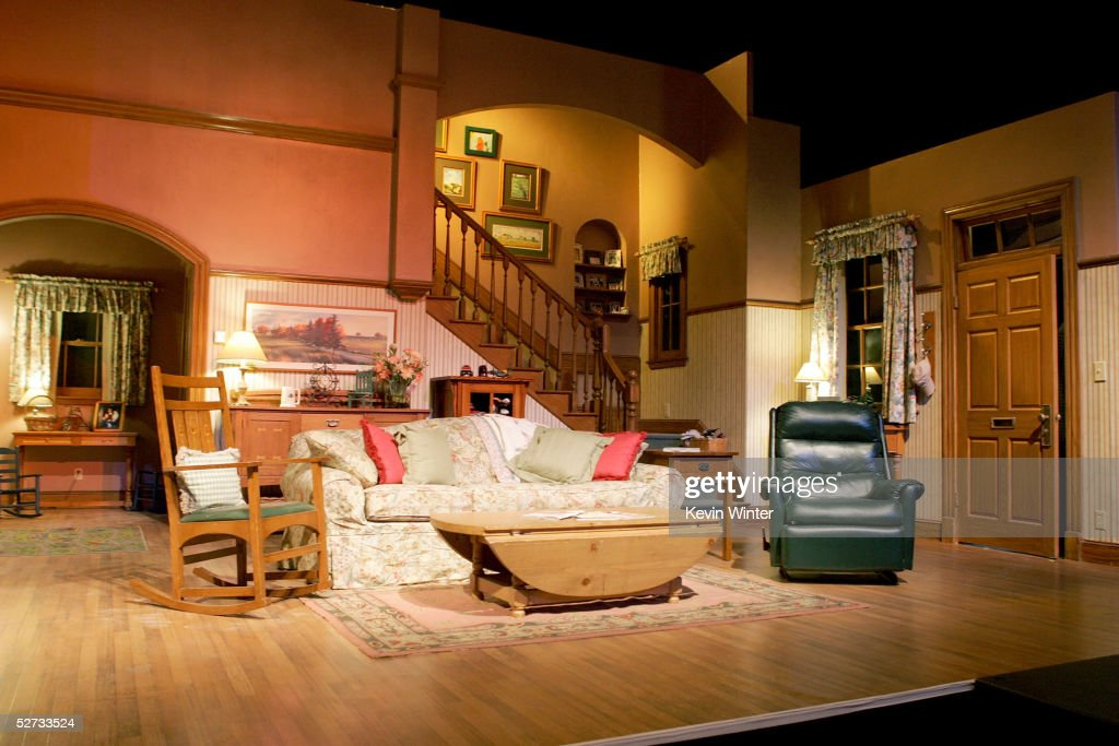 interior of one of the everybody loves raymond sets is seen at the picture id52733524