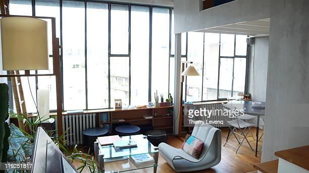 Interior of paris design home