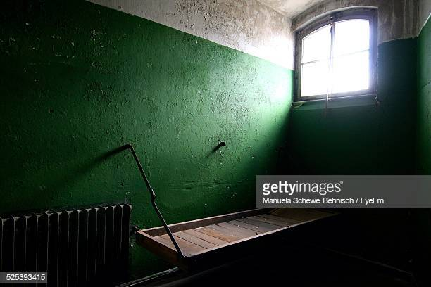 Interior of Prison Cell