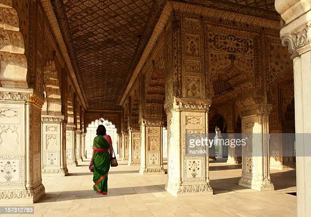 Intérieur du Fort rouge, Delhi, Inde