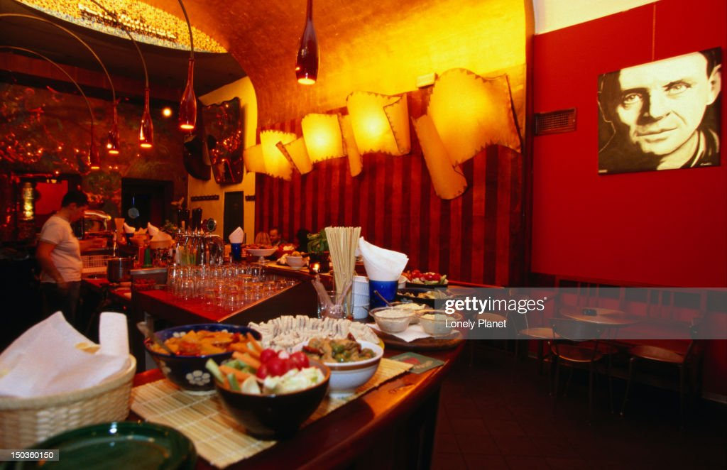 Interior of Rex Bar. : Stock Photo