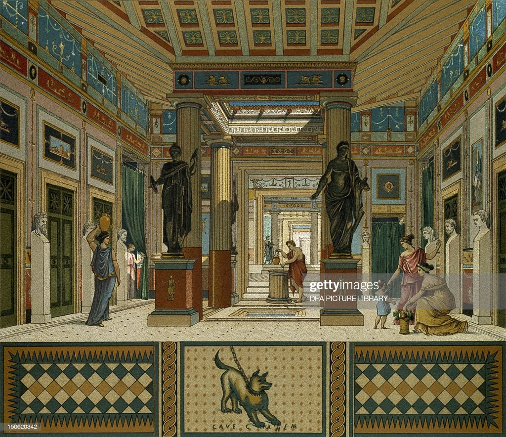 Ancient greek interior - What houses romanians prefer ...