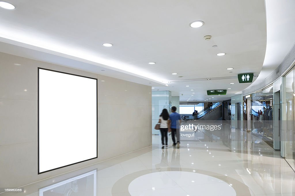 interior of shop mall