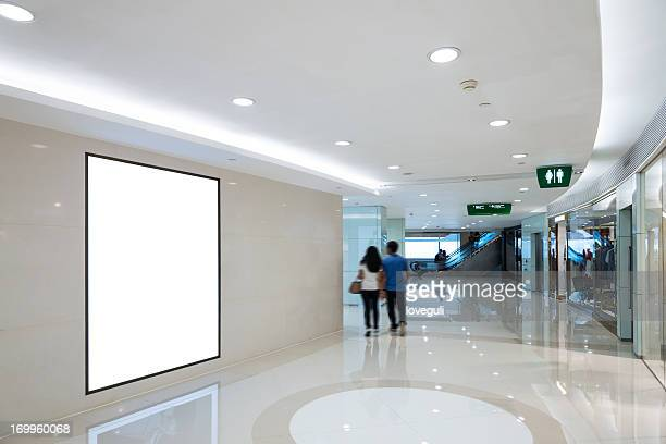 interior of shop mall