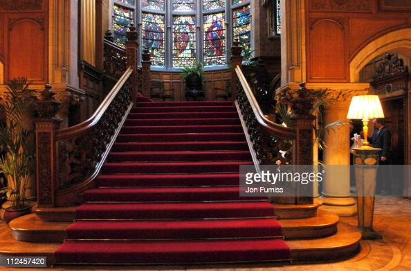 Interior of Skibo Castle during...