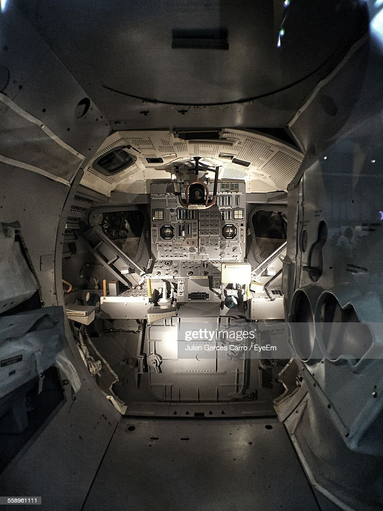 Interior Of Space Shuttle