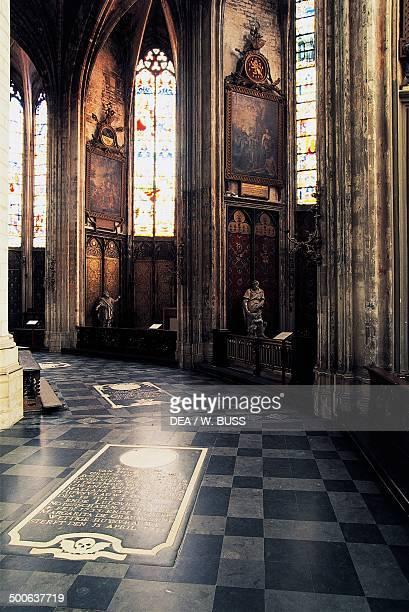 Interior of St Rumbold's Cathedral Mechelen Belgium 13th15th century
