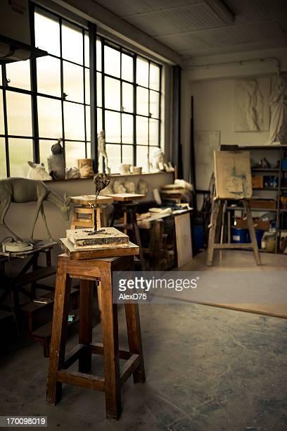 Interior of Studio Artist