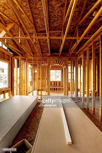 Interior of Suburban Home Under Construction