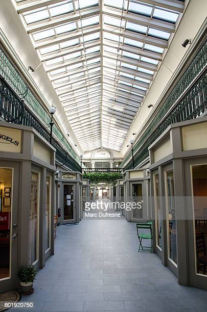 Interior of the Arcade shopping mall in Providence, Rhode Island