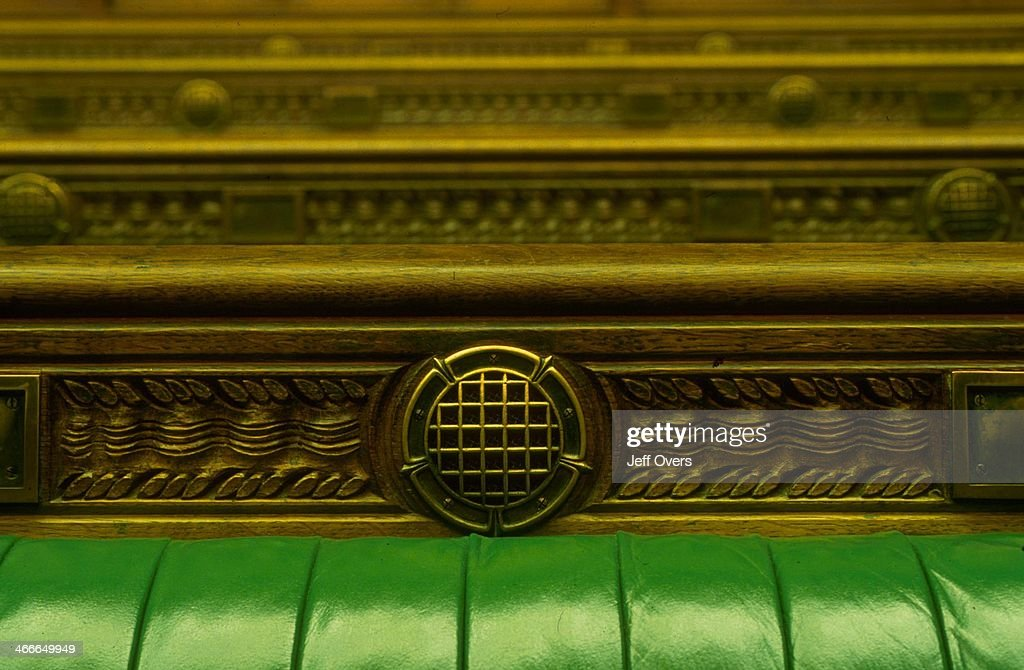 Interior of the chamber of the House of Commons Pictures Getty