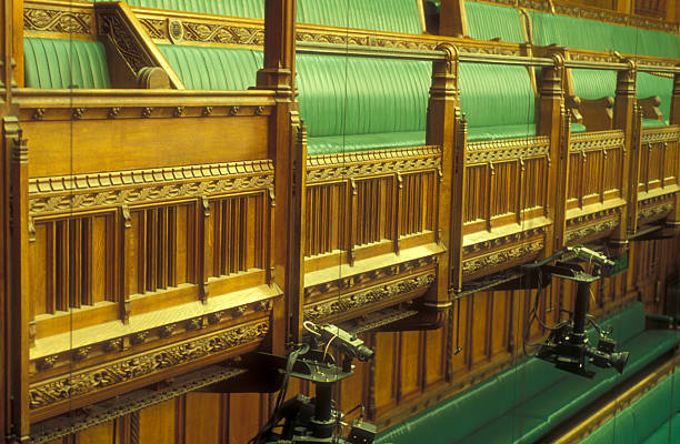 Interior of the chamber of the House of Commons Pictures | Getty Images