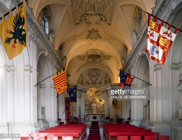 Interior of the chapel of the Grand priory of the Order of Malta by Giovanni Battista Piranesi Rome Italy 18th century