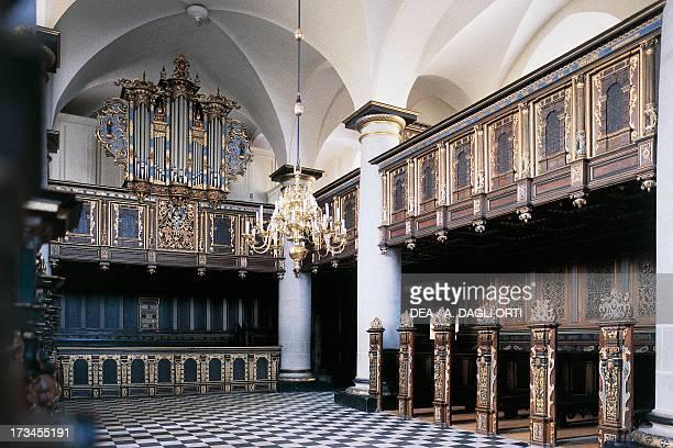 Interior of the church Kronborg Castle Helsingor Denmark