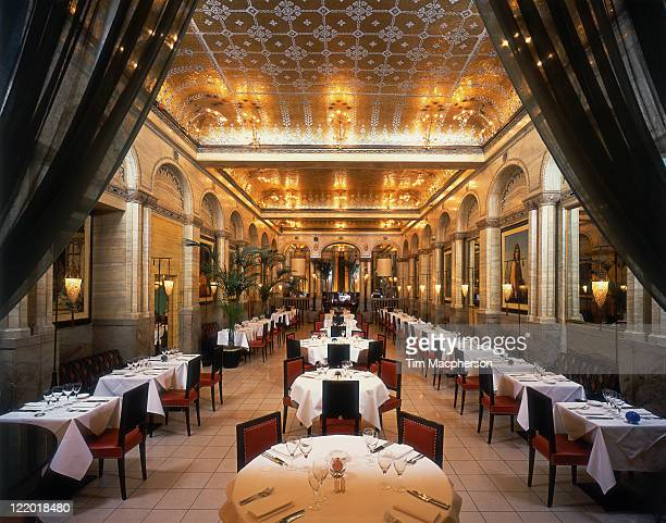 Interior of the Criterion restaurant, London
