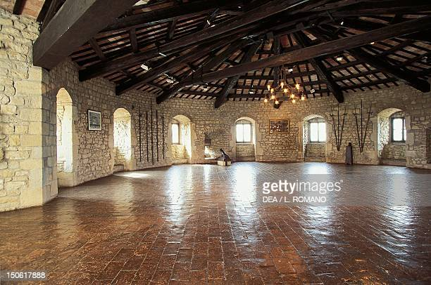 Interior of the Fortress of San Leo's Tower Marche Italy 15th century
