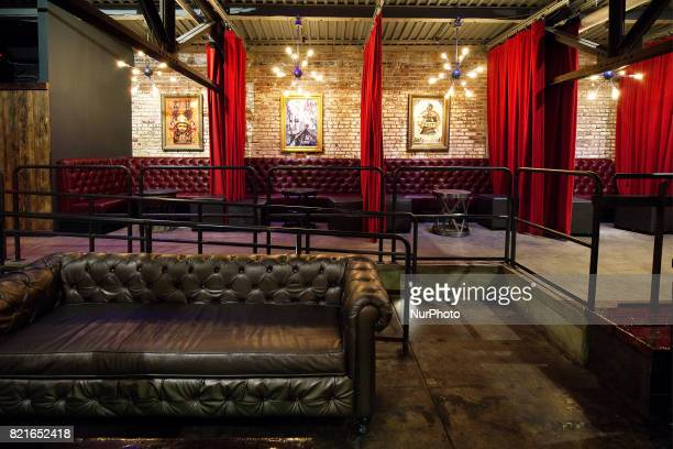 Interior of the Foundry a smaller more intimate 'club' style venue found on the second level of the Fillmore Philadelphia The entertainment venue in...