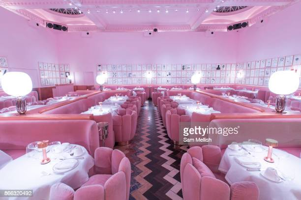 Interior of The Gallery afternoon tea and dining room at Sketch London in Mayfair on 4th November 2015 in London United Kingdom The Gallery holds a...