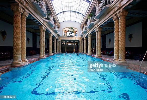 Interior of the Gellert Baths