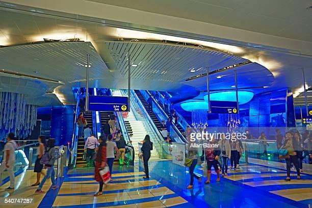 Interior of the Khalid Bin Al Waleed metro
