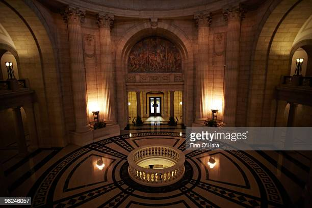 Interior of the Manitoba Legislature building.