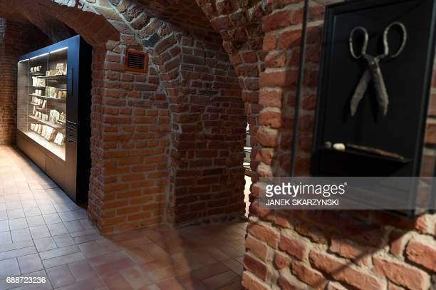 Interior of the Museum of Warsaw before its reopening after four years of renovation and redesign on May 26 2017 in Warsaw The new main exhibition...