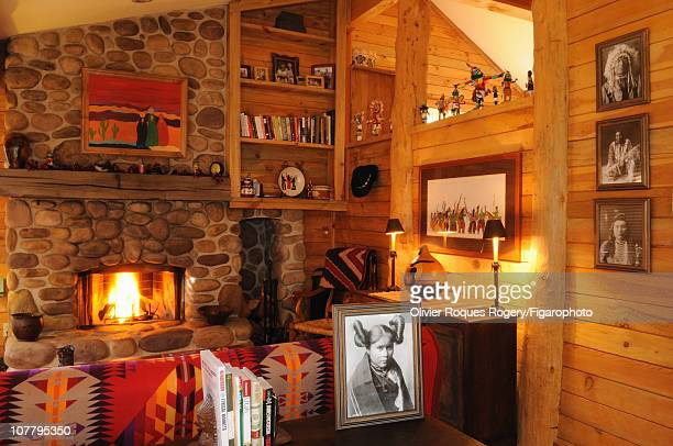 Interior of The Sundance Resort owned by actor Robert Redford photographed for Le Figaro on November 24 2009 in Sundance Utah Published image Figaro...