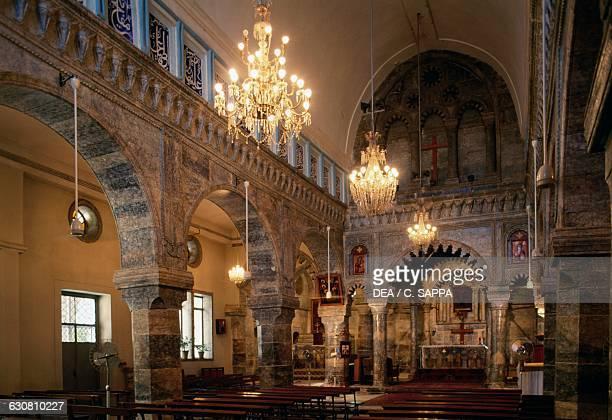 Interior of the SyrianCatholic church of St Thomas Mosul Iraq 19th century