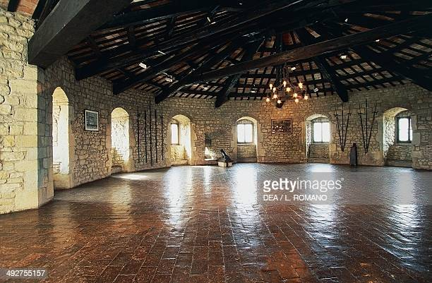 Interior of the tower of the Fortress of San Leo 15th century Marche Italy