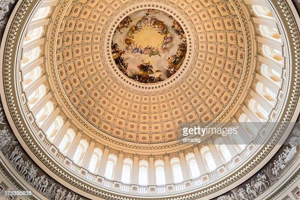 Interior of the United States Capitol Dome