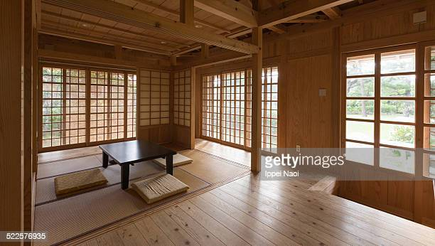 Interior of traditional house in Okinawa, Japan