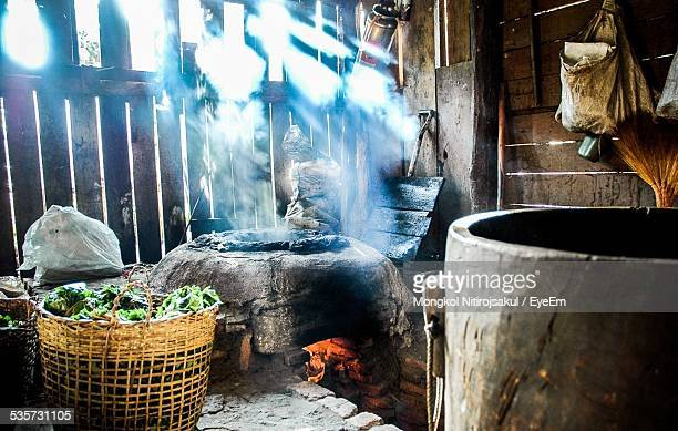 Interior Of Traditional Kitchen