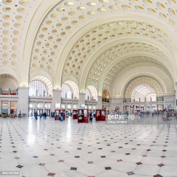 Interior of Union Station in Washington DC, USA