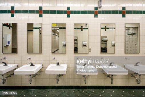 interior of washroom