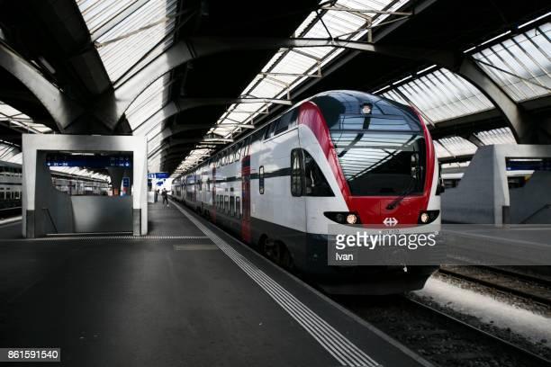 Interior Of Zurich SBB Subway Station