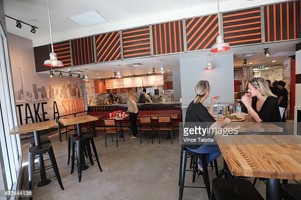 Interior picture of Blaze Pizza on Dundas St E at Yonge St in Toronto