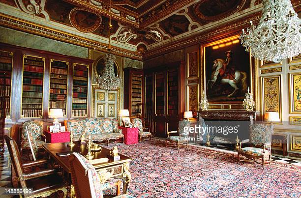Interior room at Chateau Vaux le Vicomte.