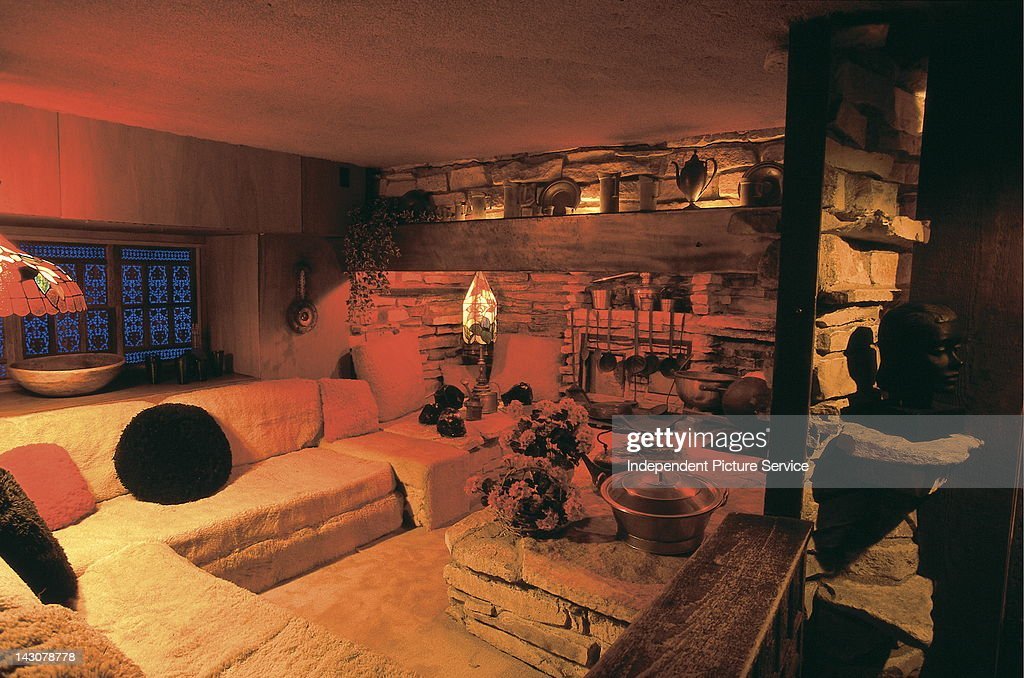 Interior Room Of The House On Rock Built By Alex JordanSpring Green