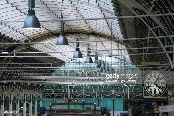 Interior Shed Design: Paddington British Rail Station