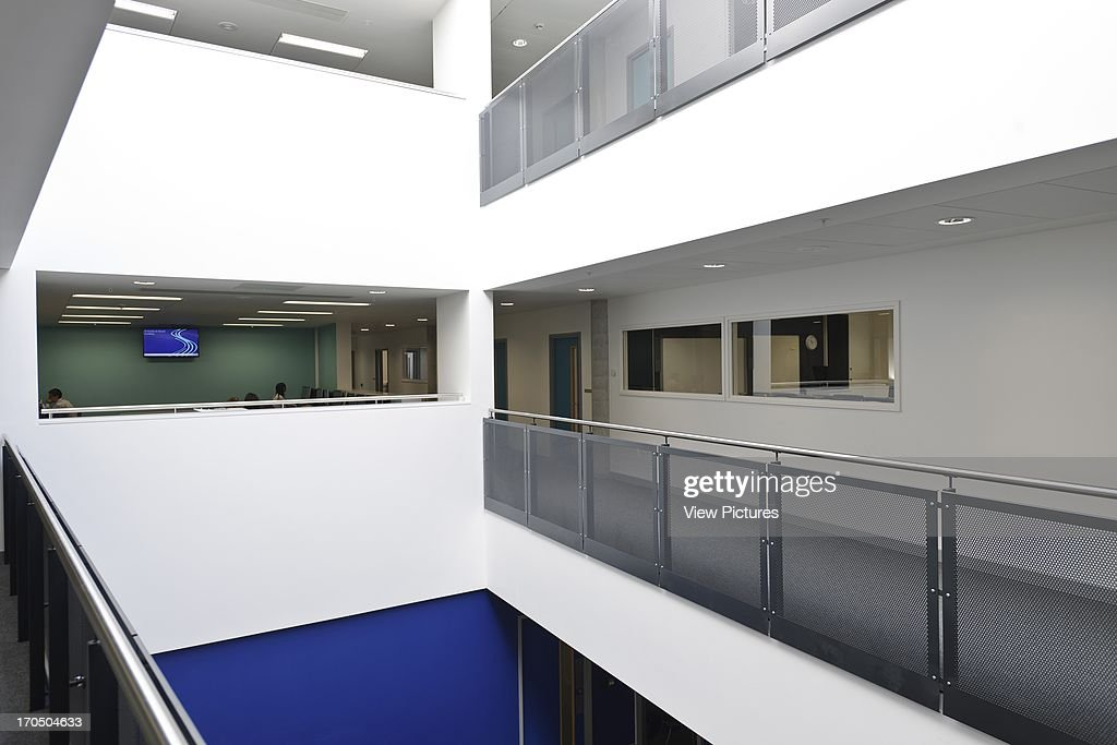 Interior Showing Circulation Space Between Classrooms Strood Academy School Europe United
