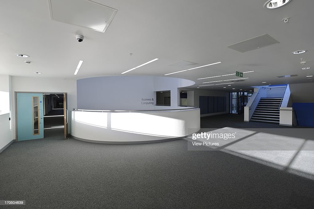 Interior Showing Circulation Space Strood Academy School Europe United Kingdom