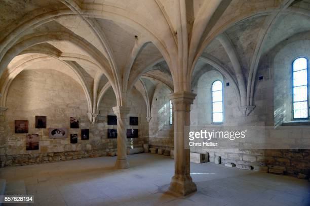 Interior Silvacane Abbey (f 1144) Provence France