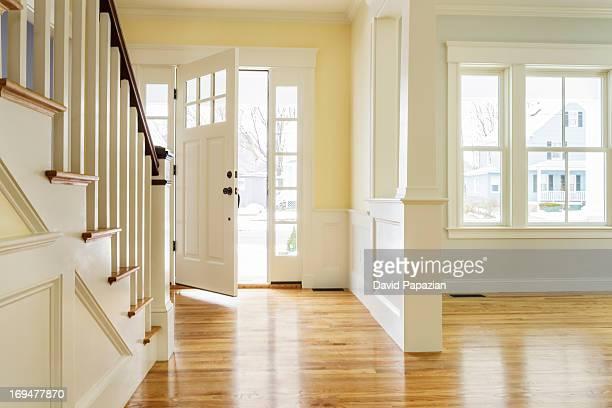 Interior space of custom built home