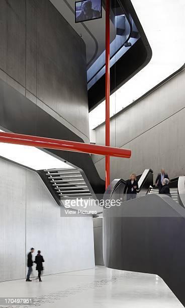 Interior staircase MAXXI National Museum of the 21st Century Arts Art Gallery Europe Italy Zaha Hadid Architects