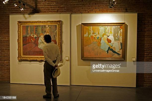 Interior Toulouse Lautrec Museum Albi France