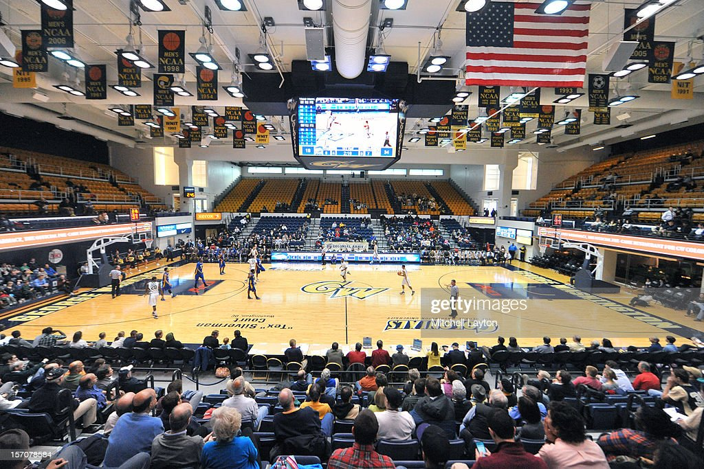 Interior view during a college basketball game between the Hofstra Pride and the George Washington Colonials on November 24 2012 at the Smith Center...