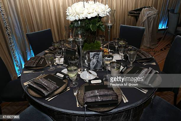 Interior view during the ICON MANN Second Annual POWER 50 PreOscar Dinner at The Peninsula Hotel on February 25 2014 in Beverly Hills California