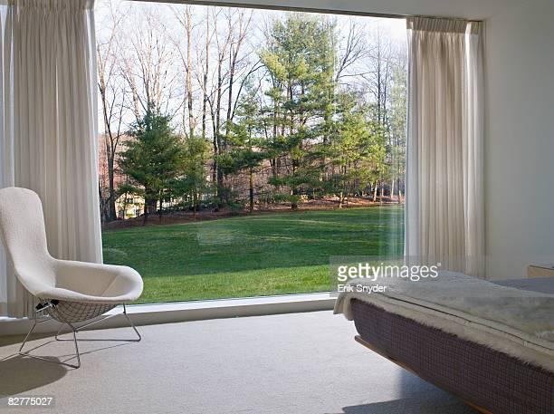 interior view of contemporary home