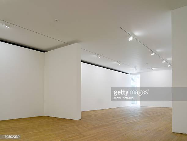Interior view of empty gallery space Photographers' Gallery Art Gallery Europe United Kingdom O'Donnell and Tuomey and ADP