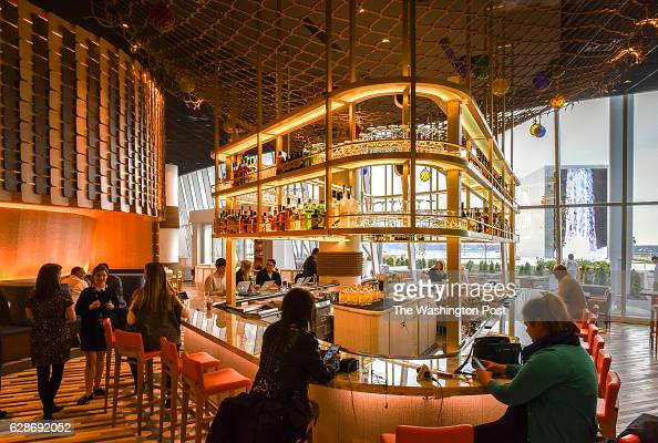 Andres jose stock photos and pictures getty images for Fish by jose andres menu
